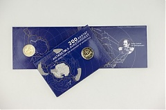 Estonian cbank issuing 2-euro coin commemorating discovery of Antarctica