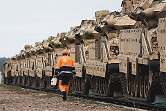 Rail Baltica to be adapted for military equipment
