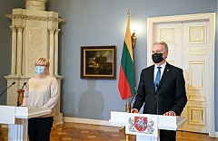 Lithuanian president approves makeup of Simonyte Cabinet