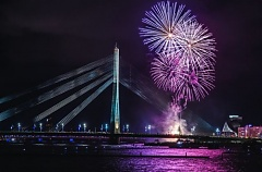 New Year's fireworks banned in Latvia