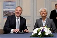Christine Lagarde in Riga: those who change, will endure