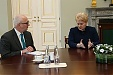 Grybauskaite criticized the law on unified Lithuanian language school leaving exam