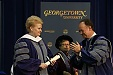 Grybauskaitė is awarded Doctor of Humane Letters at Georgetown University