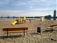 New beach area opened in Riga