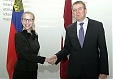 Latvian MFA met with Minister for Foreign Affairs, Education of Liechtenstein