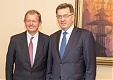 PM Butkevicius and Marcus Wallenberg discussed investment environment in Lithuania