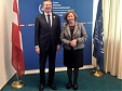Latvia fully supports the work of the International Criminal Court