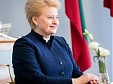 Grybauskaite receives award for strengthening Lithuania