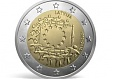 Latvijas Banka issues a special 2 euro coin to honour 30 years of the EU flag