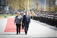 Latvian PM and Merkel discussed cooperation in defense and economy