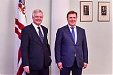 M. Kučinskis and Brexit Minister agree on inviolability of interests of Latvia's residents working in UK