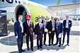 airBaltic Exhibits CS300 at Paris Air Show