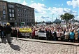 Several hundred pensioners in Riga participate in rally to stop poverty