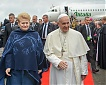 Pope Francis visited in Lithuania