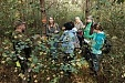 Teachers draw inspiration for research and cooperation in forest