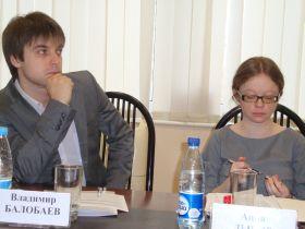 Балобаев и Анна Дынэр. БФУ, Калининград. 16.03.2012.
