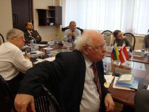 Ханон Барабанер на семинаре в БФУ. Калининград, 16.03.2012.