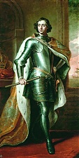 Петр I также увлекся речами пройдохи Паткуля, умудрившегося представить  секретную докладную записку царю, в которой он  расписал  все выгоды союза с польским королем  Августом II в достижении великой цели: